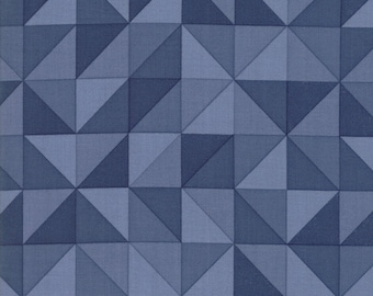 Spectrum Ombre HST Indigo from Spectrum Collection by V and Co for Moda Fabrics