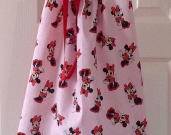 Pink Polka Dot Minnie Mouse Dress by Cheryl's Bowtique / 2017 Vacation Collection, Disney, Vacation, Mickey, Sundress, Cruise