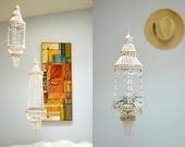 Shell Chandelier Light  //  Shell Plant Hanger  //  SEA MAIDEN