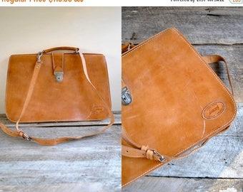 25% off sale - Leather Briefcase  //   Messenger Bag  //  THE SUNDANCE
