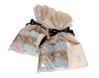 QMC Holiday Sock Gift Box: Quality Mending Co. Rag Socks & QMC Tote