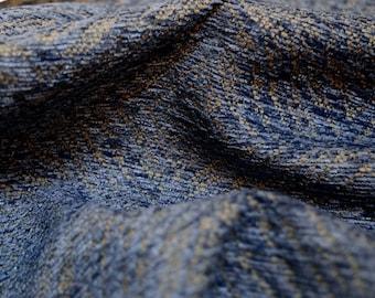 Santino Sky Blue Herringbone Swavelle Fabric