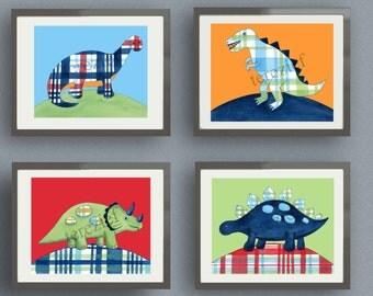dinosaur art, boy dinosaur art , dinosaur bedding art, dinosaur artwork, boys nursery art