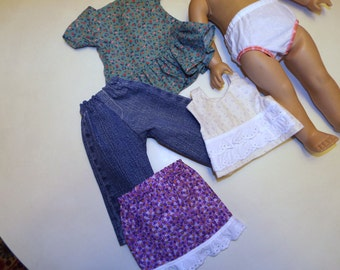 Doll Clothes To Fit American Girl Size Doll