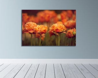 Orange Tulip Photography, Flower Art, Flower Photography, Orange Flower Photography, Tulip Wall Art, Tulip Home Decor, Tulip Photo