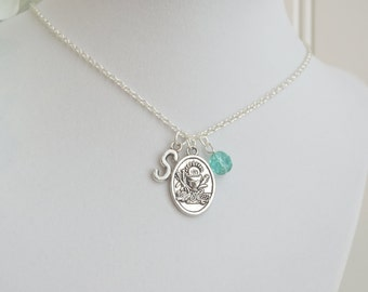 First Communion Personalized Charm Necklace