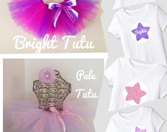 Star Tutu Outfit, Shining Star Tutu, 2nd Birthday, 1st Birthday, Star Outfit