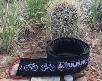 Soulrun Fat Belt - Bike Wheel Hearts