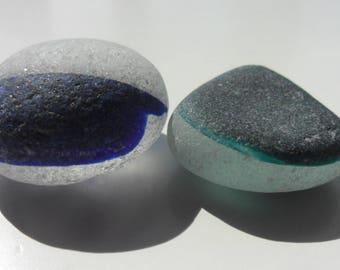 Large Seaham Multis -  Beautiful English Sea Glass - Free Shipping (5278)