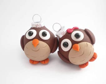 Owl Mini Ornaments