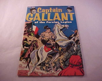 Captain Gallant of the Foreign Legion 1955 Comic Book Buster Crabbe