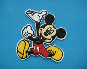 Iron-on Embroidered Patch Mickey Mouse 3 inch