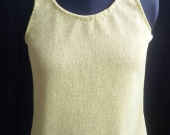 Lime, knitted top