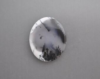 Dendritic Opal Cabochon
