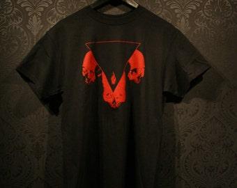 Red skulls T-shirt