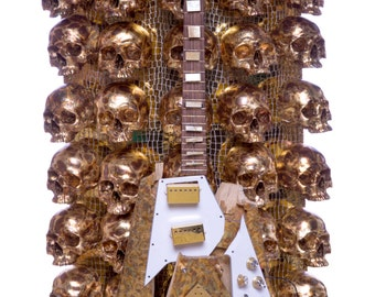 Valhalla Guitar Sculpture by Chris Blake Chappell