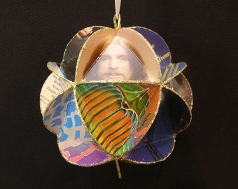 Journey Band Album Cover Ornament Made Of Record Jackets