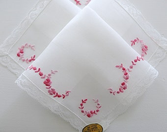 Vintage Swiss Made Lace Handkerchief, Style No. 1030