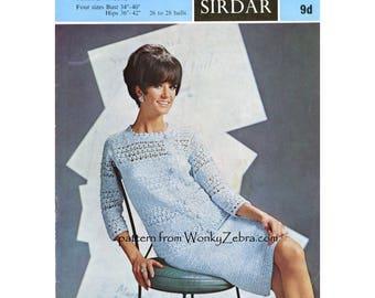 Crochet Suit Pattern Vintage PDF 273 from WonkyZebra