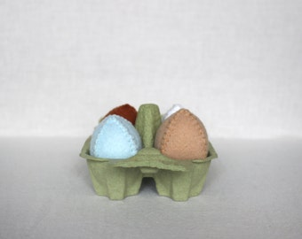 Mix of Felt Eggs