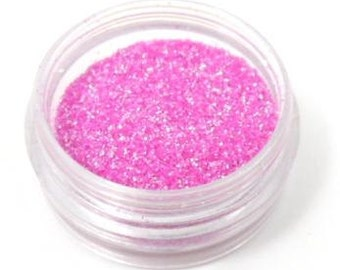 Embossing Powder in Hot Pink Sparkle, Metallic, Jewelry making, Paper crafting, embossing