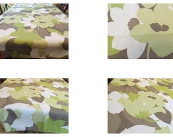 Table Cloth #15:  Table Cloth, Table Cloths, Linen Table Cloth, Cotton Tablecloth, Floral Table Cloth, Floral Tablecloths, Kitchen, Dining