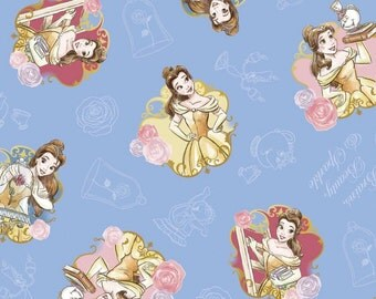 Brand New Release Belle Brains Beauty Fabric by Springs Creative