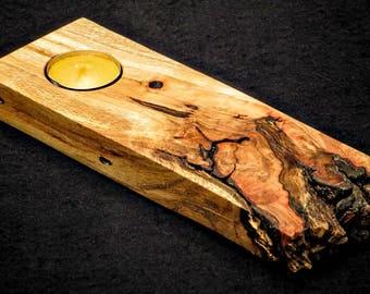 Oak Votive Board No. 1