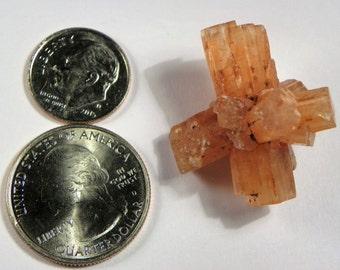 Aragonite Crystal Cluster (Aragonite01) This Aragonite crystal measures 28mm x 30mm weighs 10+ grams