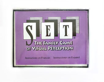 SET Card Game, Brain Game, Visual Perception