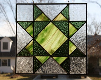 Stained Glass Suncatcher Quilt Block Missouri Star