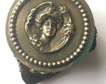 Vintage Cut Steel Coin Purse