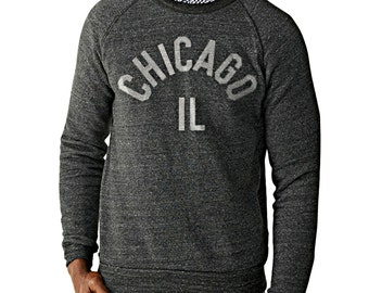 Premium Chicago Unisex Fleece Crewneck Sweatshirt