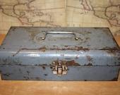 Vintage Metal Tool Box - Craftsman - item #2367