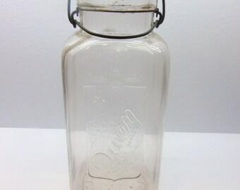 Vintage Queen Canning Jar