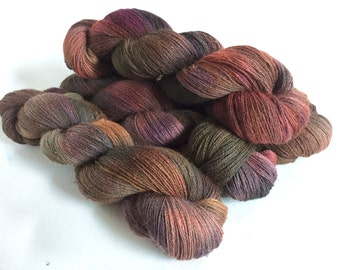 Isadora. Alpaca Lace Yarn. Earthworks