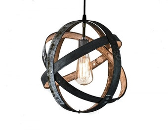 ATOM - Atom - Barrel Ring Pendant Light