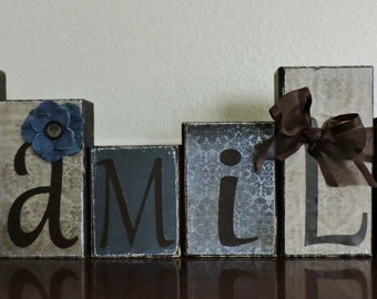 Custtom Made Phrase Wooden Block Sets