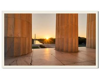 Washington sunrise - Photographic Print by Doug Armand on Etsy