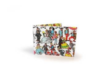 Where's Wally Waldo Oyster Card Holder - book page in vinyl - for metro, rail, oyster cards