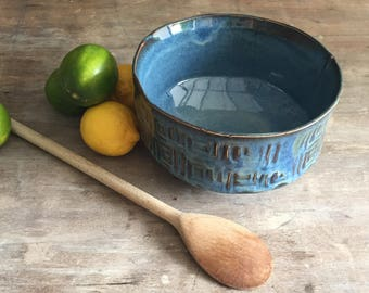 Handmade Bowl, Salad Bowl, Fruit Bowl, Pasta Bowl, Tabletop, Home Decor Centerpiece, Wedding Gift