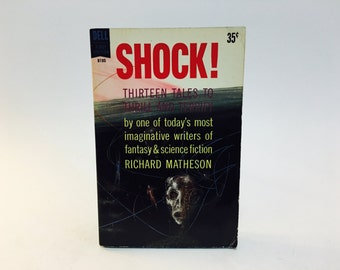 Vintage Fear Fantasy Book Shock! by Richard Matheson 1961 Paperback Anthology
