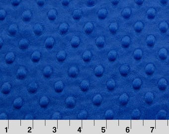 Blue Minky Pieces, Blue Minky Destash, Electric Blue Minky Scrap, By The Pound, Shannon Fabric, Cuddle Dimple, Minkee, For Minky Quilt Block