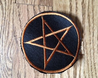 Samhain Pentacle Patch