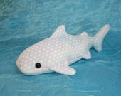 Light Blue Spotted Whale Shark Plush Stuffed Animal