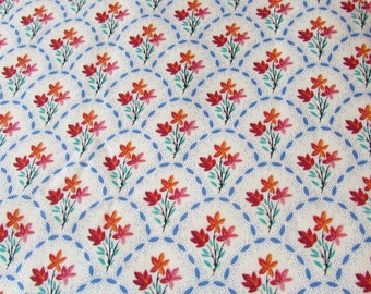 Michael Miller Fabric Scallop Ditzy Floral, Pattern C551