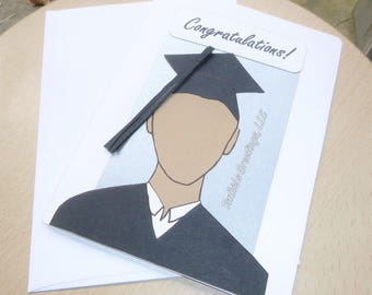 Congratulations GREATNESS - Graduation Card Handmade