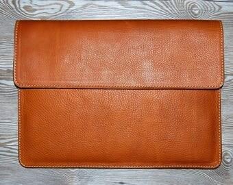 Leather MacBook Pro Case, MacBook Pro Case, MacBook Pro 13 Inch Case, MacBook Pro 15 Inch, Saddle Tan Leather MacBook Pro 17 Inch, Leather