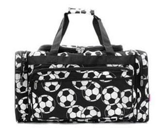 Personalized Duffle Bag-SOCCER Duffle Bag GYM BAG Luggage Overnight Bag Sports Bag