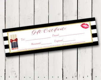 LipSense Gift Certificates For LipSense Distributors